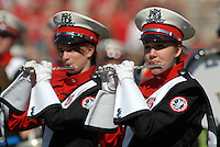 Marching band performs prior to the NCSU vs BC football game. PHOTO BY ROGER WINSTEAD