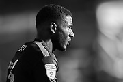Forest Green Rovers Reuben Reid(26) during the EFL Sky Bet League 2 match between Macclesfield Town and Forest Green Rovers at Moss Rose, Macclesfield, United Kingdom on 29 September 2018.