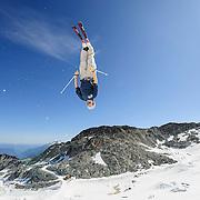The Canadian Freestyle Ski on the Horstman Glacier on Blackcomb Mountain