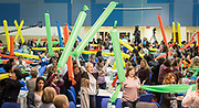 Attendees conduct an experiment during the R.T. Garcia Early Childhood Winter Conference, January 26, 2019.
