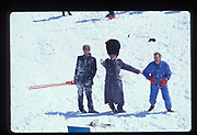 Dangerous Sports Club Ski race, St. Moritz, March 1985