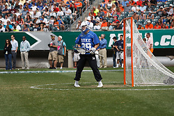 2013 May 27: Luke Aaron #39 of the Duke Blue Devils during a 16-10 win over the Syracuse Orange to win the NCAA national championship at Lincoln Financial Field in Philadelphia, PA.