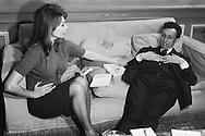 A good rapport was established between Sophia Loren and Jean Louis Barrault.<br /> <br /> Un bon rapport a &eacute;t&eacute; &eacute;tabli entre Sophia Loren et Jean Louis Barrault