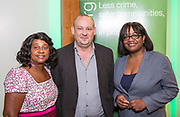 Baroness Doreen Lawrence, Canon Giles Fraser, Diane Abbott MP. The Howard League for Penal reform's Community Awards 2015 The Kings Fund, London, UK. All use must be credited © prisonimage.org