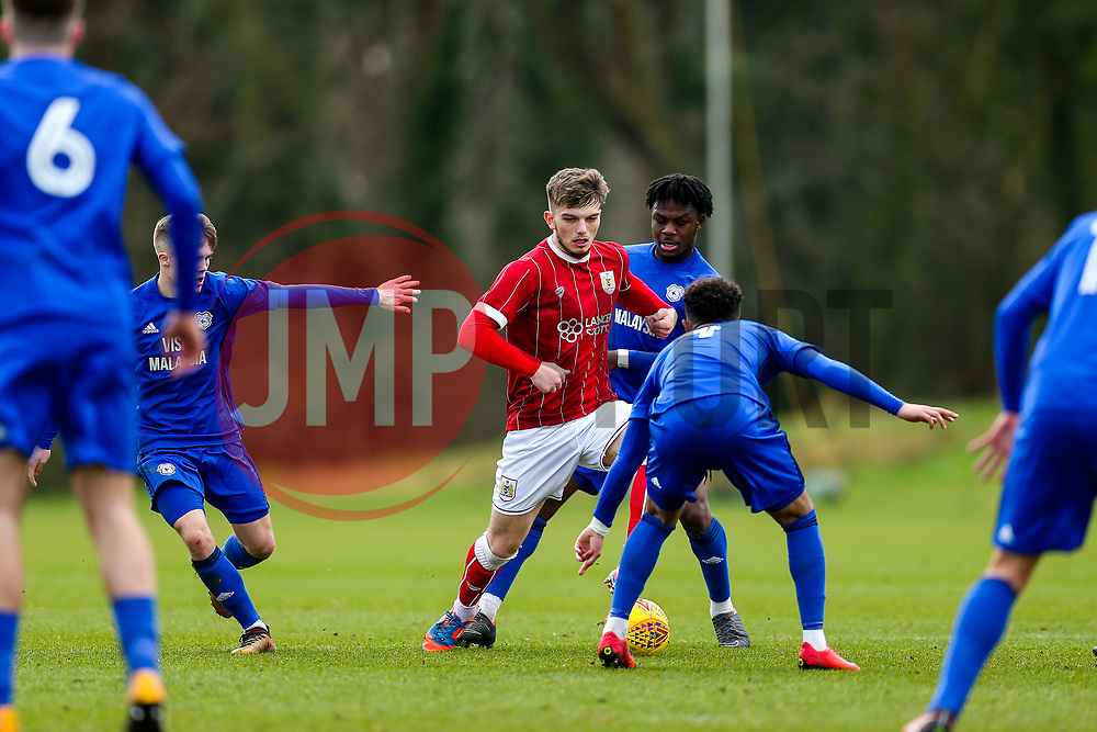 Cameron Allen of Bristol City U23 - Rogan/JMP - 19/02/2018 - Failand Training Ground - Bristol, England - Bristol City U23 v Cardiff City U23.