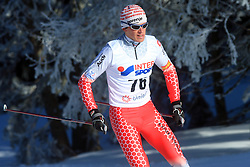 Slovenian cross-country skier Matija Rimahazi at 10th OPA - Continental Cup 2008-2009, on January 17, 2009, in Rogla, Slovenia.  (Photo by Vid Ponikvar / Sportida)