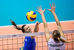 22-08-2017 NED: World Qualifications Slovenia - Bulgaria, Rotterdam<br /> Bulgaria win 3-1 against Slovenia /<br /> Photo by Ronald Hoogendoorn / Sportida