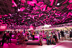 Deutsche Telekom stand at 2016  IFA (Internationale Funkausstellung Berlin), Berlin, Germany