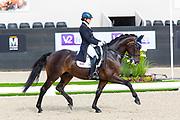 Hana Vasaryova - David du Plessis Belliere<br /> FEI World Championships Young Dressage Horses 2019<br /> © DigiShots