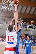 DESCRIZIONE : Bormio Torneo Internazionale Gianatti Italia Croazia <br /> GIOCATORE : Angelo Gigli <br /> SQUADRA : Nazionale Italiana Uomini <br /> EVENTO : Bormio Torneo Internazionale Gianatti <br /> GARA : Italia Croazia <br /> DATA : 01/08/2007 <br /> CATEGORIA : Tiro S<br /> PORT : Pallacanestro <br /> AUTORE : Agenzia Ciamillo-Castoria/S.Silvestri