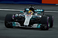 Lewis Hamilton of Mercedes AMG Petronas during the Austrian Formula One Grand Prix qualifying session at the Red Bull Ring, Spielberg<br /> Picture by EXPA Pictures/Focus Images Ltd 07814482222<br /> 08/07/2017<br /> *** UK &amp; IRELAND ONLY ***<br /> <br /> EXPA-EIB-170708-0007.jpg