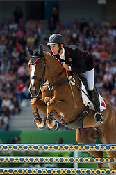 Alex Hua Tian, (CHN), Harbour Pilot C - Jumping Eventing - Alltech FEI World Equestrian Games™ 2014 - Normandy, France.<br /> © Hippo Foto Team - Leanjo De Koster<br /> 31-08-14