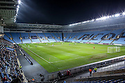 Empty Ricoh Arena during the The FA Cup match between Coventry City and Morecambe at the Ricoh Arena, Coventry, England on 15 November 2016. Photo by Simon Davies.