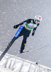 February 8, 2019 - Lahti, Finland - Halvor Egner Granerud participates in FIS Ski Jumping World Cup Large Hill Individual training at Lahti Ski Games in Lahti, Finland on 8 February 2019. (Credit Image: © Antti Yrjonen/NurPhoto via ZUMA Press)