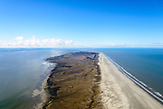 Nederland, Friesland, Schiermonnikoog, 28-02-2016;  in de voorgrond Schiermonnikoog, dan Simonszand en de onbewoonde eilanden Rottumerplaat en Rottumeroog. Aan de verre horizon Borkum.<br /> Uninhabited Wadden island seen from Schiermonnikoog, Wadden sea. <br /> <br /> luchtfoto (toeslag op standard tarieven);<br /> aerial photo (additional fee required);<br /> copyright foto/photo Siebe Swart