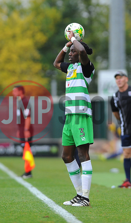 Nathan Smith of Yeovil Town - Mandatory by-line: Nizaam Jones/JMP - 29/10/2016/ - FOOTBALL - Hush Park - Yeovil, England - Yeovil Town v Grimsby Town - Sky Bet League Two