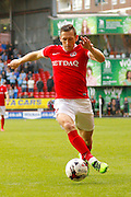 Charlton Athletic midfielder Andrew Crofts (8) during the EFL Sky Bet League 1 match between Charlton Athletic and Coventry City at The Valley, London, England on 15 October 2016. Photo by Andy Walter.