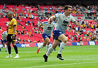 Football - 2018 / 2019 EFL Sky Bet League Two Play-Off Final - Newport County vs. Tranmere Rovers<br /> <br /> James Norwood of Tranmere celebrates his winning goal in extra time, at Wembley Stadium.<br /> <br /> COLORSPORT/ANDREW COWIE