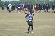 Toto Windham attends the Southern Elite Combine at FNC Park in Oxford, Miss. on Wednesday, July 10, 2013.