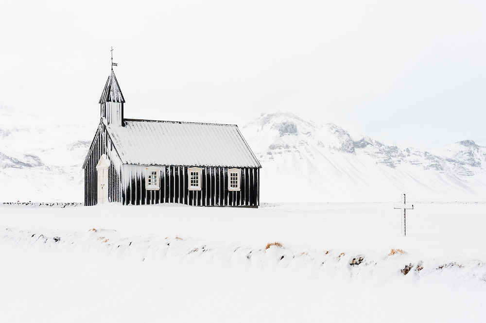 Church at Bu∂ir, Iceland