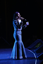ANAHEIM, CA - MAY 12: Lupita Infante performs on stage during her concert at the M3 Live in Anaheim, California on May 12, 2017.  Byline, credit, TV usage, web usage or linkback must read SILVEXPHOTO.COM. Failure to byline correctly will incur double the agreed fee. Tel: +1 714 504 6870.