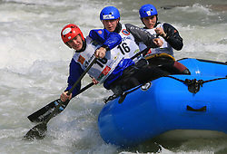 Cabanos Bratislava of Slovakia at Euro Cup 2009 R6 Rafting in TT & H2H and Slovenian National Championship 2009, on April 4, 2009, in Tacen, Ljubljana, Slovenia. (Photo by Vid Ponikvar / Sportida)