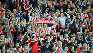 Sunderland fans after the Barclays Premier League match at the Stadium Of Light, Sunderland<br /> Picture by Simon Moore/Focus Images Ltd 07807 671782<br /> 11/05/2016