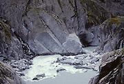 Franz Joseph Glacier, Glacier Stream, River, Glacier milk, glacial milk, New Zealand
