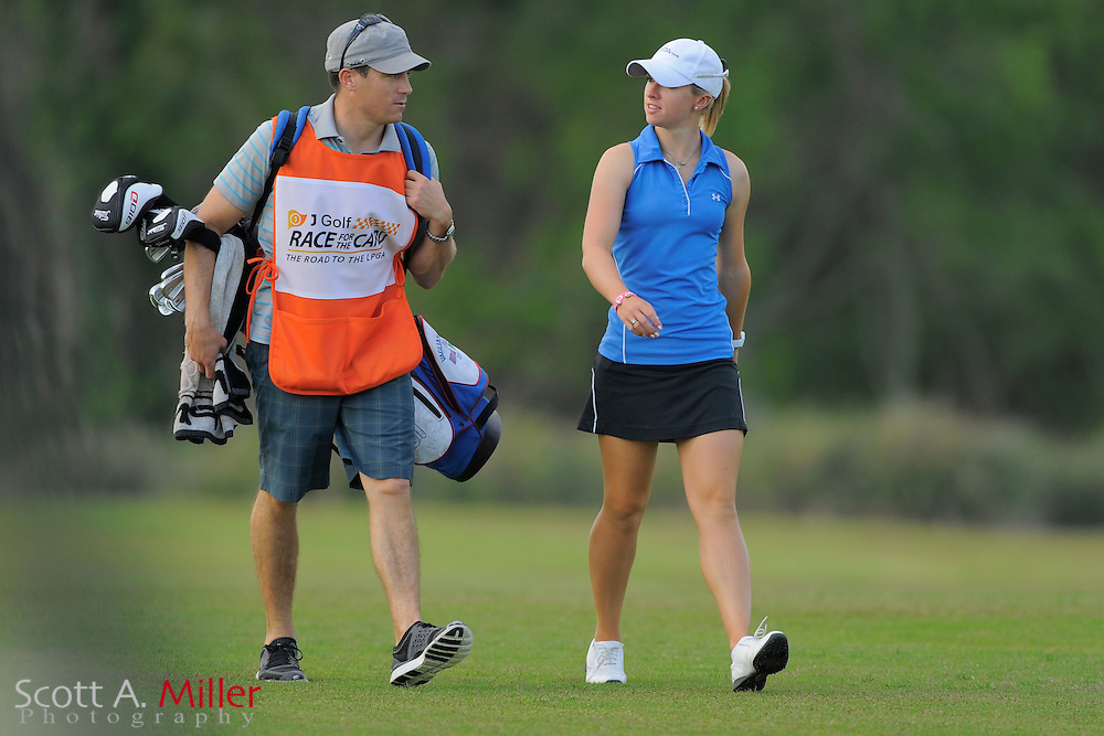 Jodi Ewart during the second round of the LPGA Futures Tour's Daytona Beach Invitational at LPGA International's Championship Course on April 2, 2011 in Daytona Beach, Florida... ©2011 Scott A. Miller