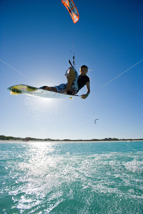 Cuba, 2009 - Kiteboarding adventure on the North east coast in Ciego de Ávila, and Camagüey province with pro riders Clarissa Hempel and Susi Mai.