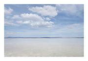 Alvord Lake, a seasonal shallow alkali lake in Harney County, Oregon