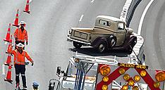 Auckland-Classic truck crash delays motorway traffic