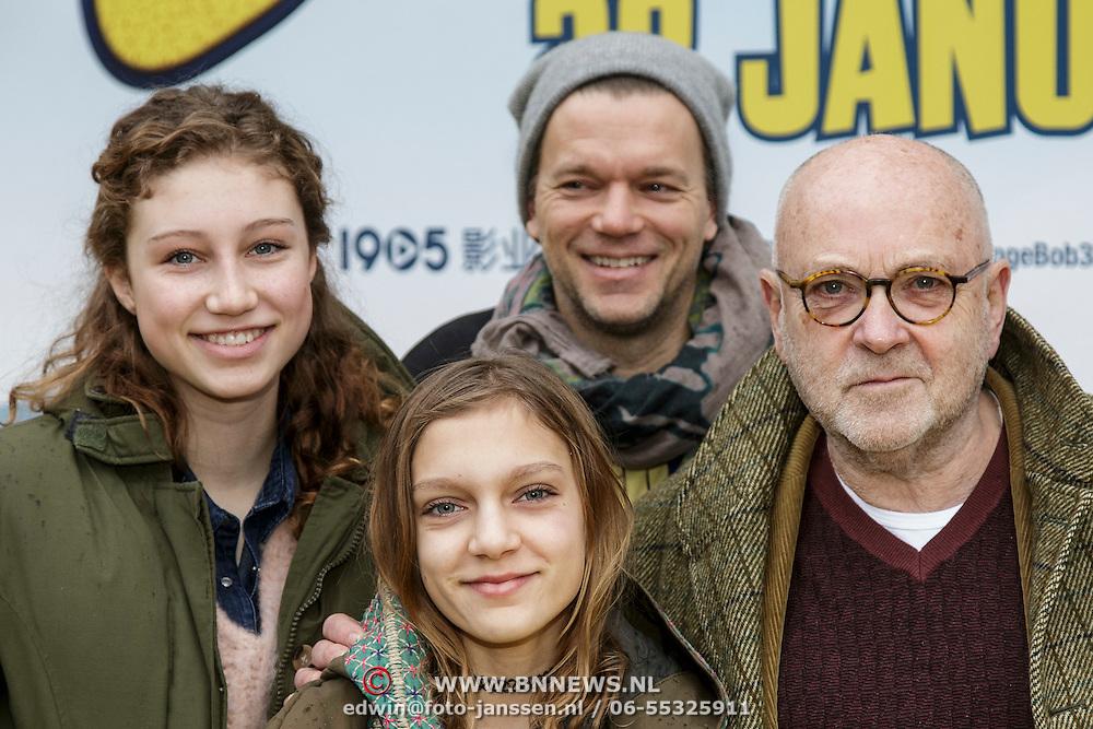 NLD/Amsterdam/20150125 - Premiere Spongebob in 3D - Sponge op het Droge, Serge Henri Valcke