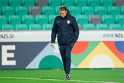 Igor Benedejcic, head coach during practice session of Team Slovenia 1 day before UEFA Nations League match against Norway, on November 15, 2018 in SRC Stozice, Ljubljana, Slovenia. Photo by Vid Ponikvar / Sportida