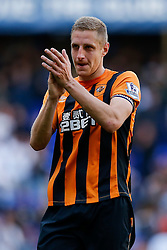 Michael Dawson looks dejected after Hull City lose 2-0 to Tottenham Hotspur - Photo mandatory by-line: Rogan Thomson/JMP - 07966 386802 - 16/05/2015 - SPORT - FOOTBALL - London, England - White Hart Lane - Tottenham Hotspur v Hull City - Barclays Premier League.