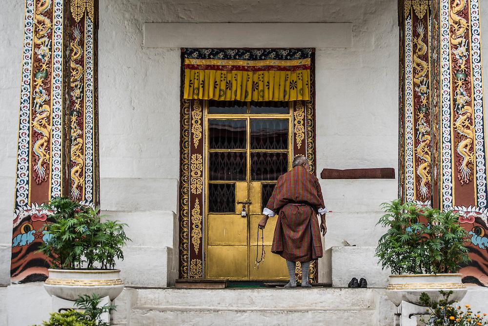 Bhutan, stupa <br /> <br /> Full photoessay at http://xpatmatt.com/photos/bhutan-photos/