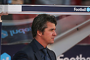 Joey Barton during the EFL Cup match between Nottingham Forest and Fleetwood Town at the City Ground, Nottingham, England on 13 August 2019.