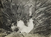 Vermoedelijk de krater van de Bromo