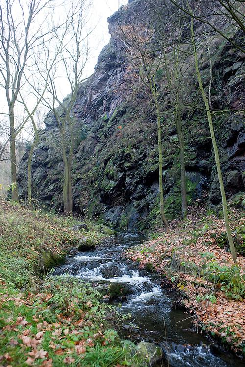 Der Naturpark Divoka Sarka.