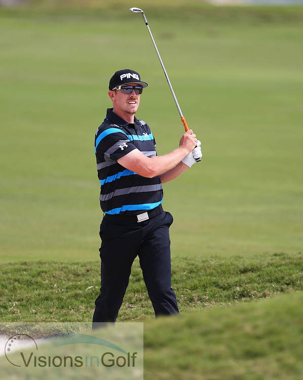 Hunter Mahan<br /> Cadillac WGC 2013<br /> March 2013<br /> Picture Credit:  Mark Newcombe / www.visionsingolf.com