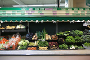 The produce section at Abundance Cooperative Market in Rochester on Friday, May 1, 2015.
