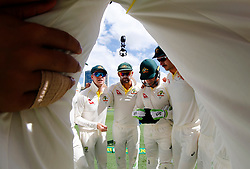 Australia's Steve Smith during day one of the Ashes Test match at The Gabba, Brisbane.
