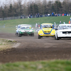 First round of the British Rallycross Championship held at Croft Circuit. (c) Matt Bristow | SportPix.org.uk