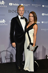 Owain Walbyoff and Natalie Pinkham at the Boodles Boxing Ball, in association with Argentex and YouTube in Support of Hope and Homes for Children at Old Billingsgate London, United Kingdom - 7 Jun 2019 Photo Dominic O'Neil