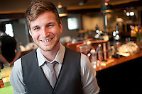 Mixologist Mickey Humpula will be concocting italian inspired cocktails at the new resteruant Bella Fortuna in Lake Leelanau.