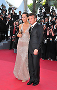 20.MAY.2011. CANNES<br /> <br /> ROBERTA ARMANI AND SEAN PENN ON THE RED CARPET FOR MOVIE THIS MUST BE THE PLACE PREMIERE AT THE 64TH CANNES INTERNATIONAL FILM FESTIVAL 2011 IN CANNES, FRANCE<br /> <br /> BYLINE: EDBIMAGEARCHIVE.COM<br /> <br /> *THIS IMAGE IS STRICTLY FOR UK NEWSPAPERS AND MAGAZINES ONLY*<br /> *FOR WORLD WIDE SALES AND WEB USE PLEASE CONTACT EDBIMAGEARCHIVE - 0208 954 5968*