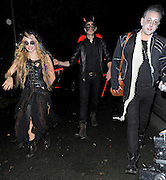 31.OCTOBER.2012. LONDON<br /> <br /> CELEBRITIES ATTEND THE JONATHAN ROSS HALLOWEEN FANCY DRESS PARTY HELD AT HIS HOUSE IN HAMPSTEAD, LONDON.<br /> <br /> BYLINE: EDBIMAGEARCHIVE.CO.UK<br /> <br /> *THIS IMAGE IS STRICTLY FOR UK NEWSPAPERS AND MAGAZINES ONLY*<br /> *FOR WORLD WIDE SALES AND WEB USE PLEASE CONTACT EDBIMAGEARCHIVE - 0208 954 5968*