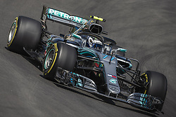 May 11, 2018 - Barcelona, Catalonia, Spain - VALTTERI BOTTAS (FIN) drives during the first practice session of the Spanish GP at Circuit de Catalunya in his Mercedes W09 EQ Power  (Credit Image: © Matthias Oesterle via ZUMA Wire)