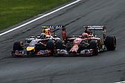 September 4-7, 2014 : Italian Formula One Grand Prix - Kimi Raikkonen (FIN), Ferrari, Daniel Ricciardo (AUS), Red Bull-Renault