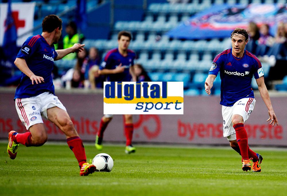 Fotball<br /> Tippeligaen<br /> Ullev&aring;l Stadion , 06.05.12<br /> V&aring;lerenga - Fredrikstad<br /> MArtin Pusic<br /> Foto: Eirik F&oslash;rde